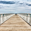 Never Ending Beach Pier by Tammy Scott