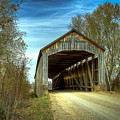 Nevins Covered Bridge by Jack R Perry