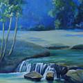 New Braunfels River Scene  by Susan Thacker