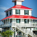 New Canal Lighthouse - Nola by Kathleen K Parker