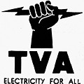 New Deal: Tva Symbol by Granger