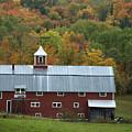 New England Barn by Jessica Wakefield