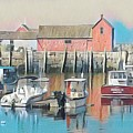 Rockport, Massachusetts by Wendy Biro-Pollard