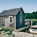 New England Fishing Cabin by Mark Miller