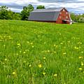 New England Landscape by Edward Fielding