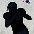 New England Patriots Football by David Dehner