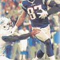 New England Patriots Rob Gronkowski 3 by Joe Hamilton