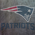 New England Patriots Translucent Steel by Movie Poster Prints