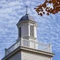New England Steeple - Ridgefield, Connecticut by Cheryl Kurman