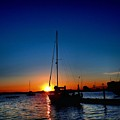 New England Sunset by Christopher Duncan