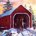 New England Winter Crossing by Jack Skinner