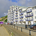 New Flats Overlooking Sandown Esplanade by Rod Johnson
