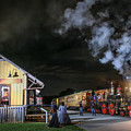 New Freedom Pa Steam Train by Sharon Horn