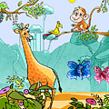 New Friends In The Jungle by Ruth Moratz