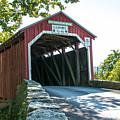 New Germantown Covered Bridge by Jennifer Wick
