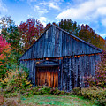 New Hampshire Barn Eaton Nh by Jeff Folger