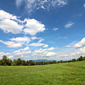 New Hampshire Farm Meadow by Neal Eslinger