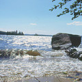 New Hampshire Lake Gale by Ron Swonger