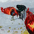 New Harmony Roosters by Jaime Haney