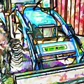 New Holland Workmaster 75 Tractor  2 by Jeelan Clark