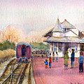 New Hope Station by Pamela Parsons