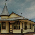 New Hope Train Station by Priscilla Burgers
