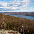 New Jersey Mountaintop View by Joan Carroll