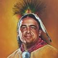 New Mexico Apache Dancer by Mahto Hogue