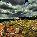 New Mexico Graveyard by David Patterson