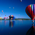 New Mexico Hot Air Balloons by Jerry McElroy