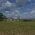 New Mexico Wind Mill by Dan Dixon