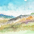 New Morning- Watercolor Art By Linda Woods by Linda Woods
