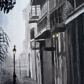 New Orleans At Night by Liz Borkhuis