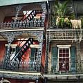 New Orleans Balconies No. 4 by Tammy Wetzel