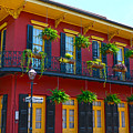 New Orleans Balcony by Christine Dekkers