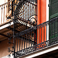 New Orleans Balcony by Kathleen K Parker