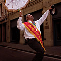 New Orleans Brass Band Leader by Grant Groberg