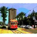 New Orleans Canal St Car 04 by Eduardo Tavares