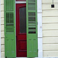 New Orleans Door 11 by Randall Weidner
