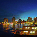 New Orleans Downtown Skyline by Art Spectrum