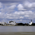 New Orleans From Algiers Point - In Color by Chris Coffee