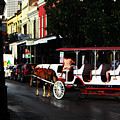 New Orleans Horse Carriage by Henry Eastman