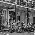 New Orleans Jazz 2 - Bw by Steve Harrington