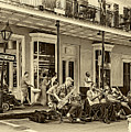 New Orleans Jazz 2 - Sepia by Steve Harrington