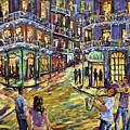 New Orleans Jazz Night By Prankearts Fine Art by Richard T Pranke