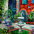 New Orleans Painting Brulatour Got A Penny by Beata Sasik