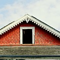 New Orleans Rooftop Architecture Fish Scales And Gingerbread by Michael Hoard
