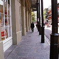 New Orleans Sidewalk 2004 by Frank Romeo