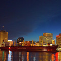 New Orleans Skyline At Night  by Art Spectrum