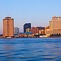 New Orleans Skyline From Algiers Point by Panoramic Images